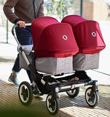 carritos gemelares marca Bugaboo