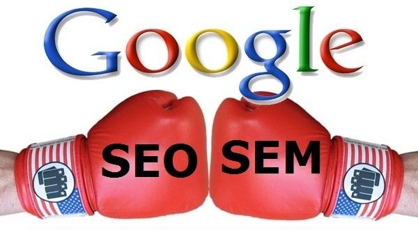 seo y sem contra google