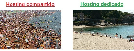 hosting compartido o dedicado
