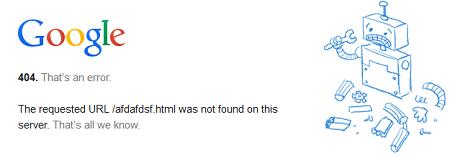 enlaces rotos o error 404