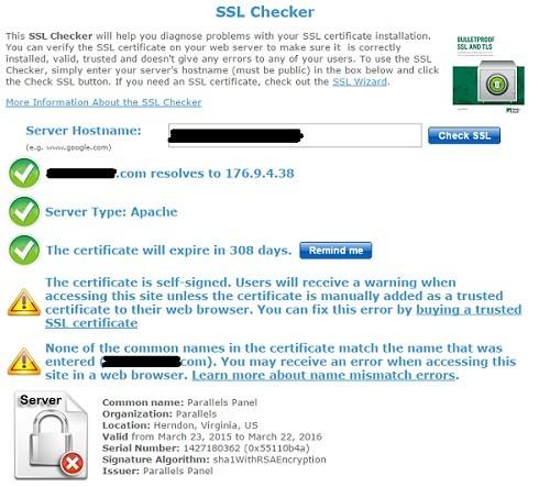 verificar que tu certificado ssl no tiene errores