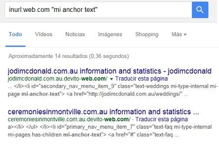 comprobar si un link esta indexado en google