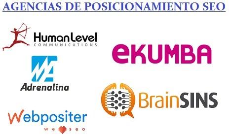 agencias de posicionamiento web SEO