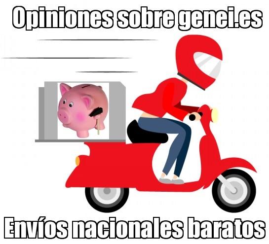 opiniones sobre genei.es para envios nacionales baratos