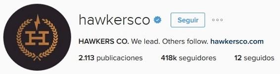 fans en instagram hawkers