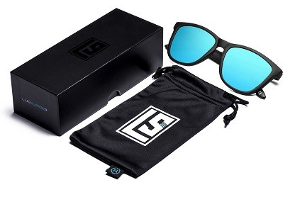 packaging gafas de sol hawkers