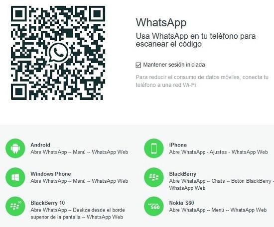 como usar la aplicacion WhatsApp web en tu ordenador