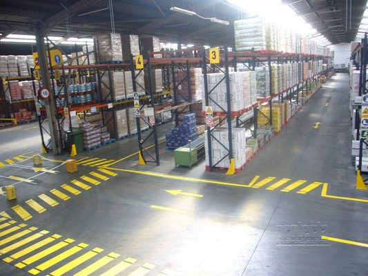 etiquetado enalizacion recorrido espacio almacen logistico