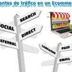 fuentes de trafico en Internet para un ecommerce