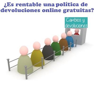 politica de devoluciones gratuitas en ecommerce tienda online