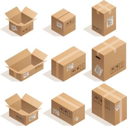 diferentes medidas de cajas carton