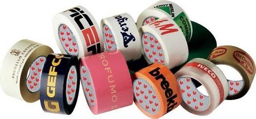 precinto o cinta adhesiva personalizada con colores