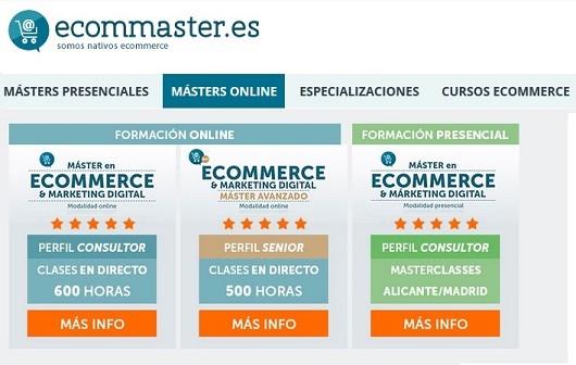 ecommaster master tienda online