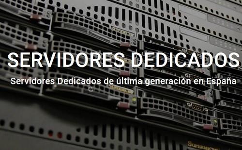 servidor dedicado en españa