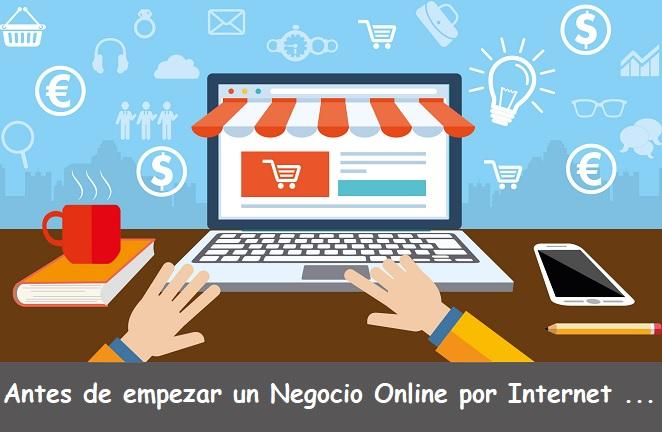 antes empezar negocio online por internet