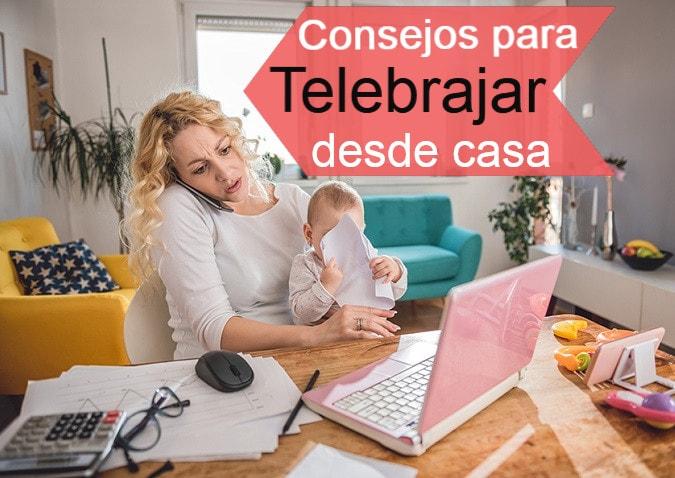 trabajar desde casa por Internet teletrabajo remoto